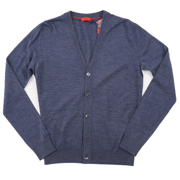 Isaia Superfine Merino Wool Cardigan Sweater - Top Shelf Apparel