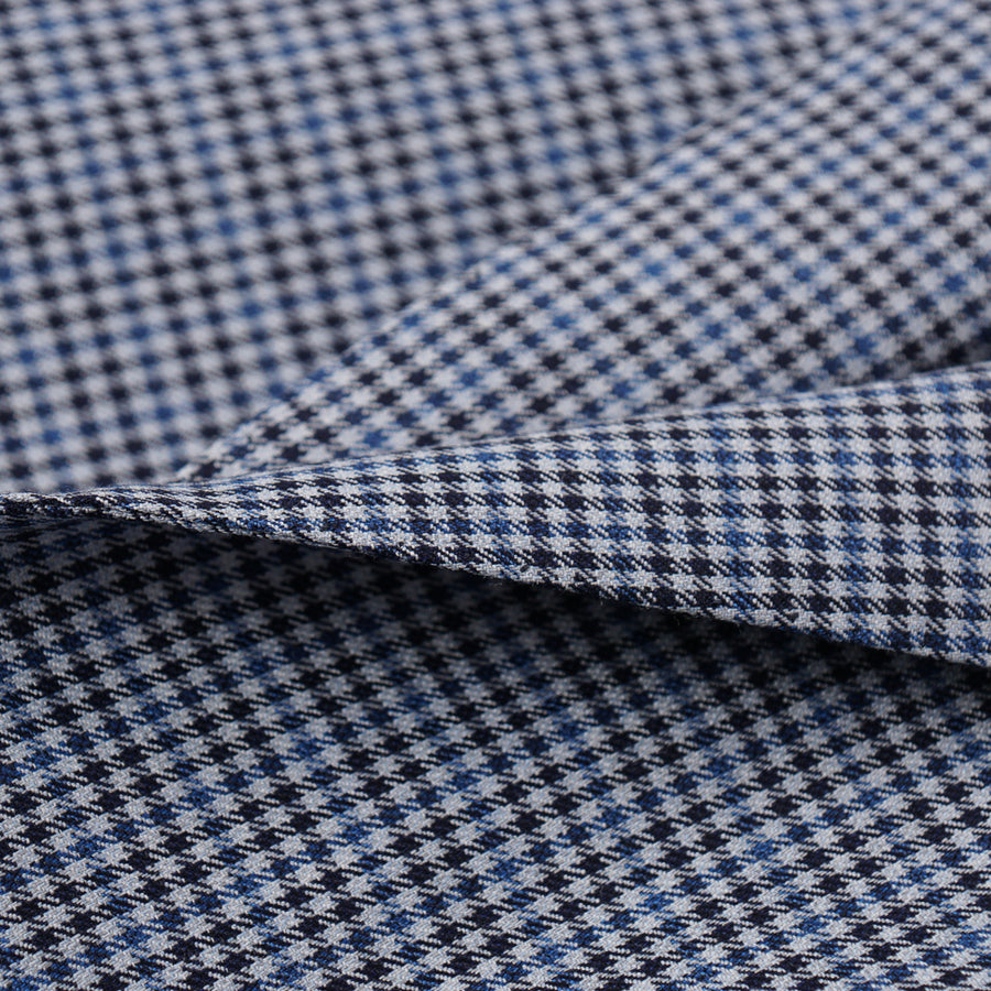 Brioni Houndstooth Check Wool Sport Coat