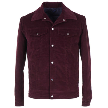 Barba Corduroy Jacket with Down-Filled Lining - Top Shelf Apparel