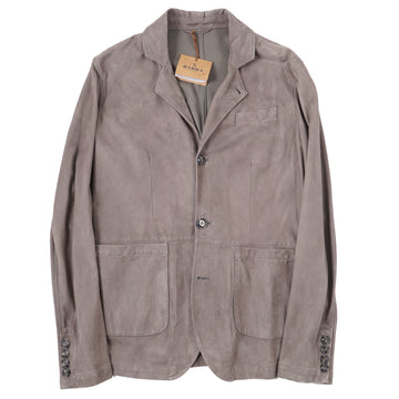 Barba Napoli Soft Lambskin Suede Blazer - Top Shelf Apparel