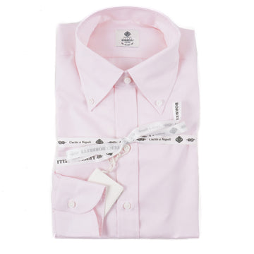 Luigi Borrelli Regular-Fit Cotton Dress Shirt - Top Shelf Apparel