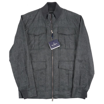Barba Napoli Lightweight Linen-Wool Jacket