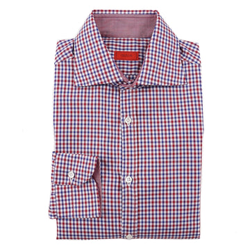 Isaia Slim-Fit Soft Twill Cotton Shirt - Top Shelf Apparel
