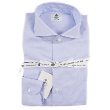 Luigi Borrelli Slim-Fit Cotton Dress Shirt - Top Shelf Apparel