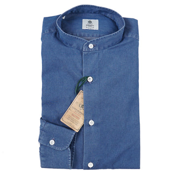 Luigi Borrelli Chambray Denim Shirt - Top Shelf Apparel