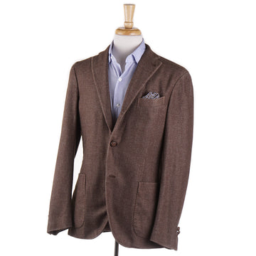 Boglioli Cashmere-Blend Sport Coat in Cocoa Brown