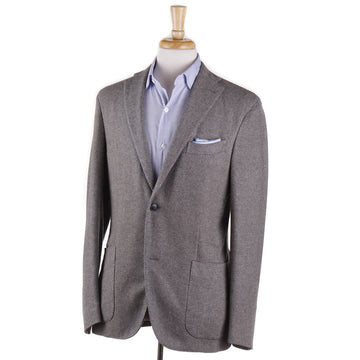 Boglioli Cashmere Sport Coat in Light Gray Woven