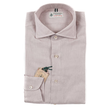 Luigi Borrelli Extrafine Linen Dress Shirt