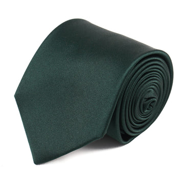 Luigi Borrelli Solid Satin Silk Tie
