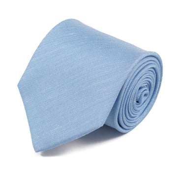 Luigi Borrelli Woven Silk and Linen Tie
