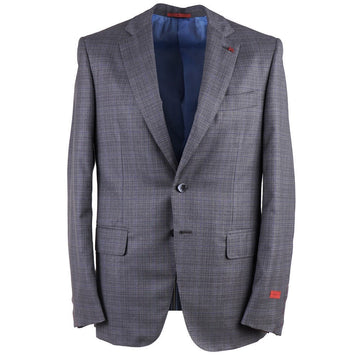 Isaia Layered Check Super 140s Wool Suit - Top Shelf Apparel