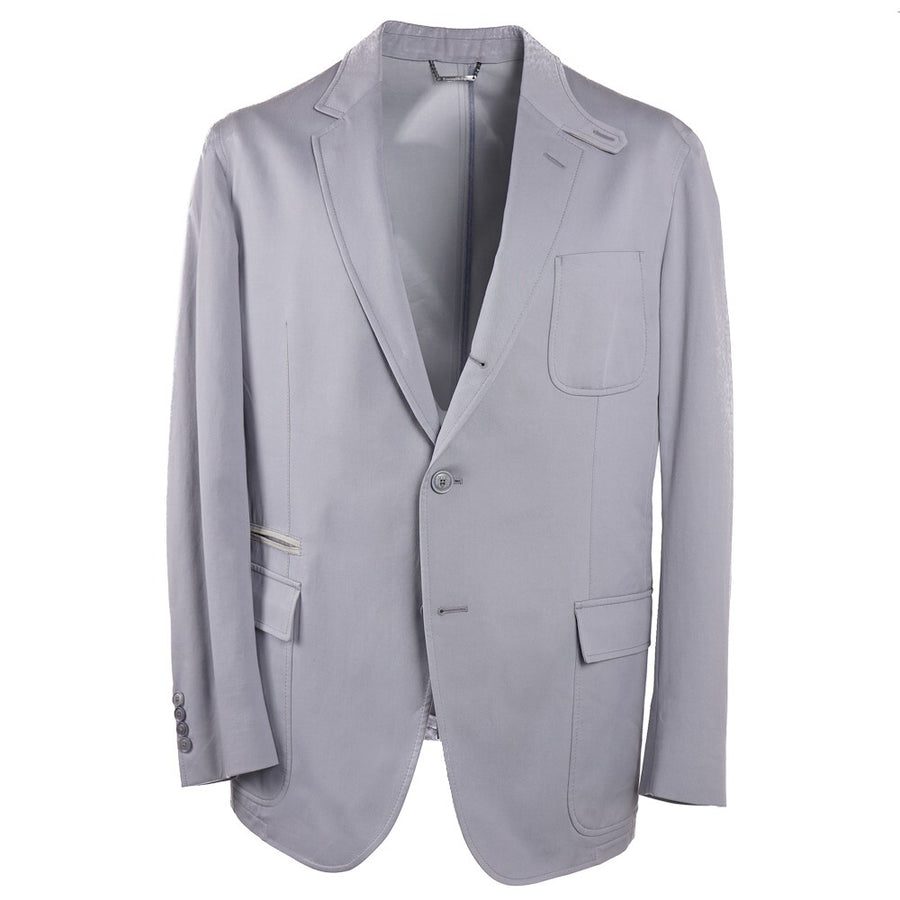 Ermenegildo Zegna Cotton and Silk Blazer