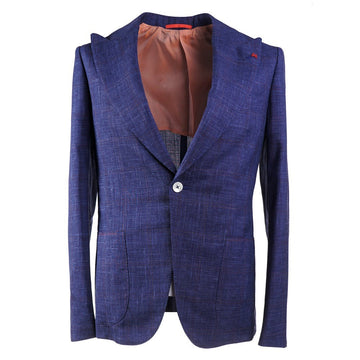 Isaia Slim Fit Wool-Silk-Linen Suit