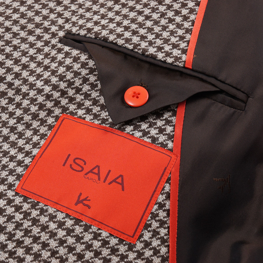 Isaia Slim-Fit Houndstooth Sport Coat