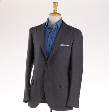 Brunello Cucinelli Peak Lapel Wool Sport Coat