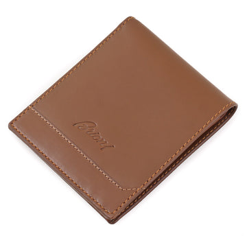 Brioni Bifold Wallet in Dark Tan Calf