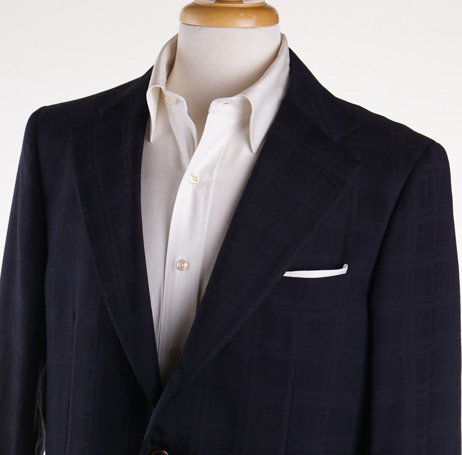 Belvest Midnight Blue Check Sport Coat - Top Shelf Apparel