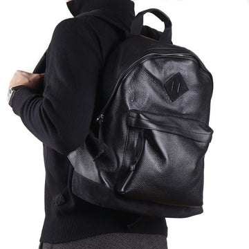 Tom Ford Black Soft Grained Leather Buckley Backpack