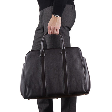 Tom Ford Buckley Overnight Carryall Bag in Dark Brown