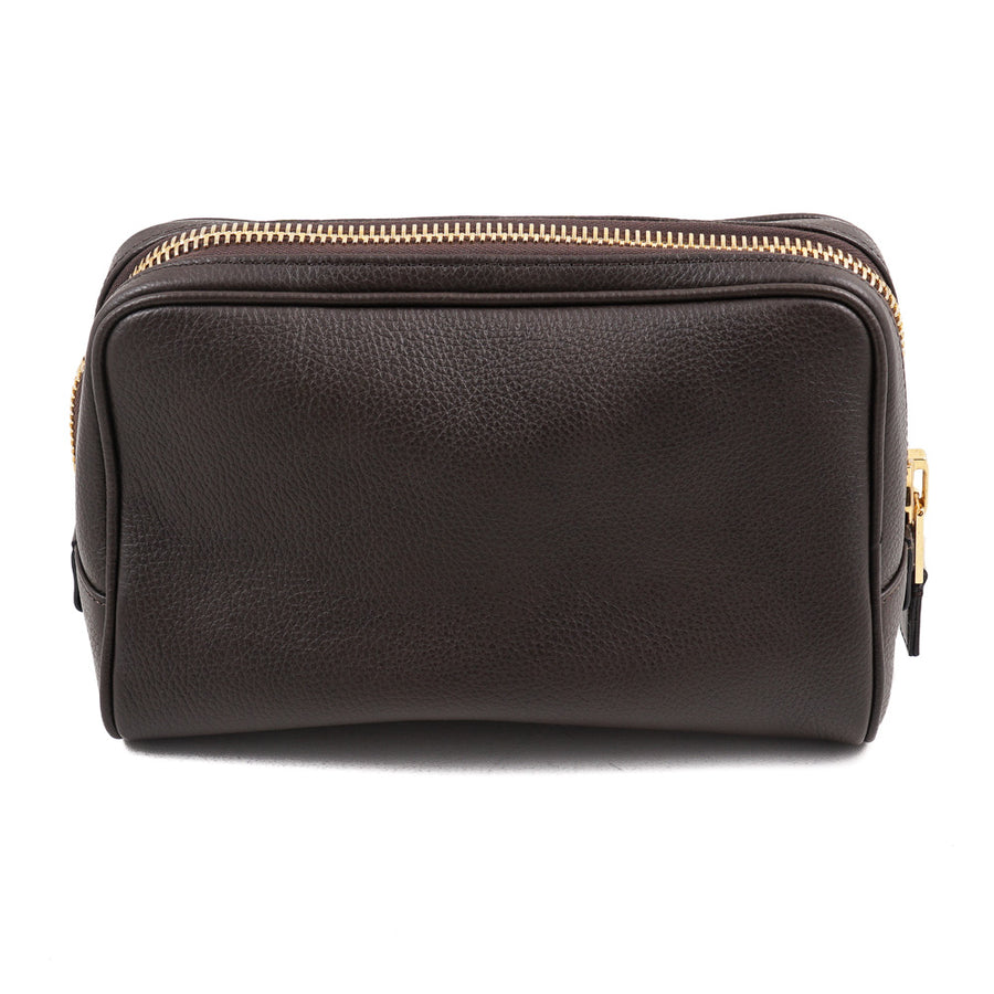 Tom Ford Single Zip Leather Toiletry Bag