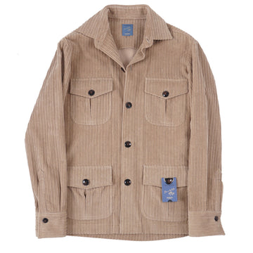 Barba Napoli Corduroy Shirt-Jacket