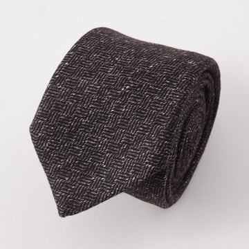 Battisti Napoli Basket Weave Wool Tie