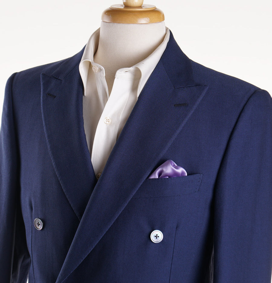 Belvest Woven Jacquard Cotton Sport Coat