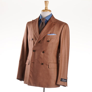 Belvest Sand Orange Cashmere-Silk Sport Coat