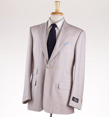 Belvest Lightweight Super 160s Wool Suit