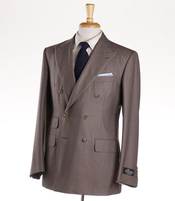 Belvest Three-Piece Super 160s Wool Suit