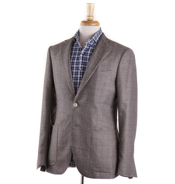 Boglioli Cashmere-Silk Sport Coat in Light Brown