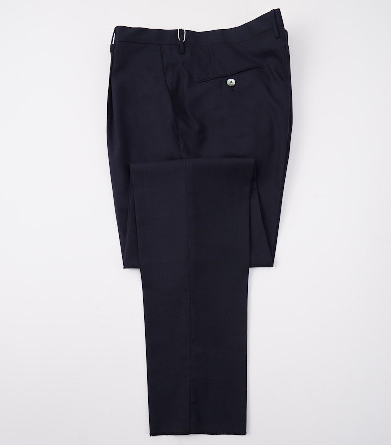 Boglioli Navy Slim-Fit Lightweight Wool Suit - Top Shelf Apparel