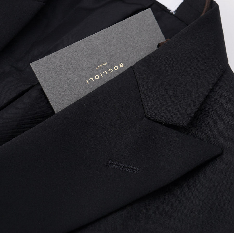 Boglioli Black Wool-Mohair Tuxedo - Top Shelf Apparel