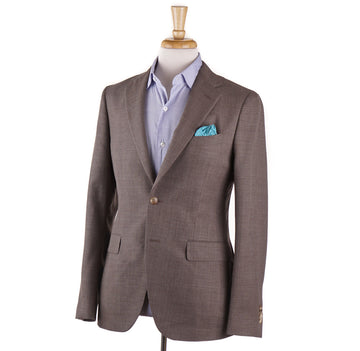 Boglioli Woven Wool Sport Coat in Light Brown