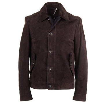 Cesare Attolini Suede Jacket with Cashmere Details - Top Shelf Apparel