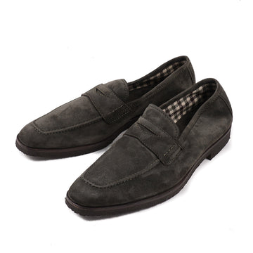 Cesare Attolini Cashmere Calf Penny Loafer - Top Shelf Apparel