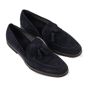 Cesare Attolini Cashmere Calf Tassel Loafer - Top Shelf Apparel