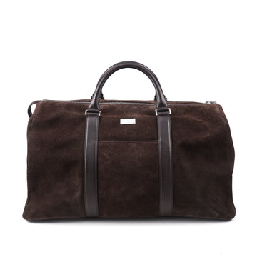 Canali Exclusive Suede Weekender Duffle Bag - Top Shelf Apparel