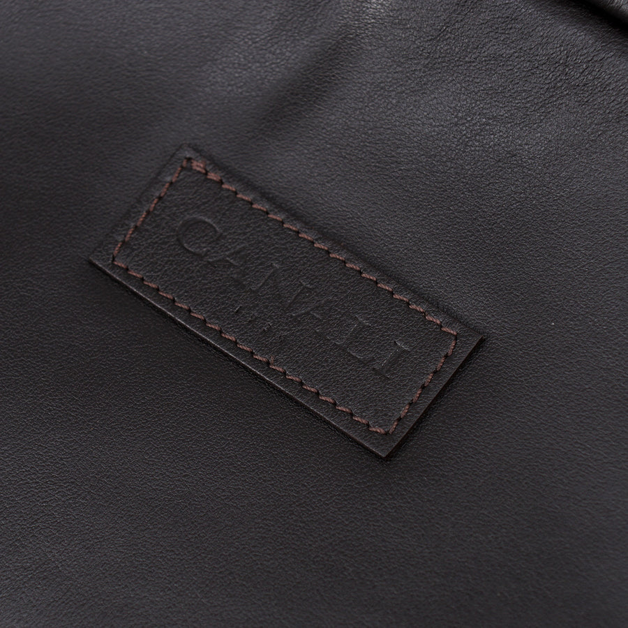 Canali Padded Soft Leather Laptop Sleeve - Top Shelf Apparel