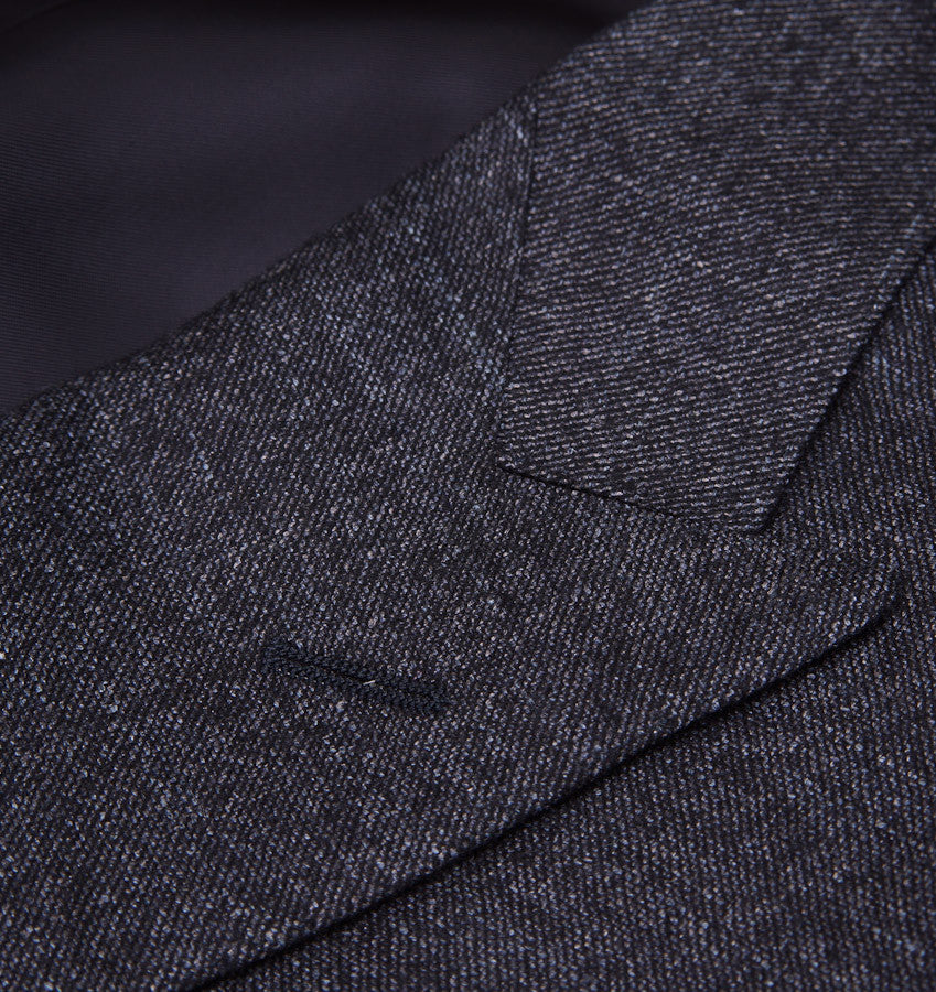 Canali Dark Gray Three-Piece Suit Eu 50/US 40R - Top Shelf Apparel - 4