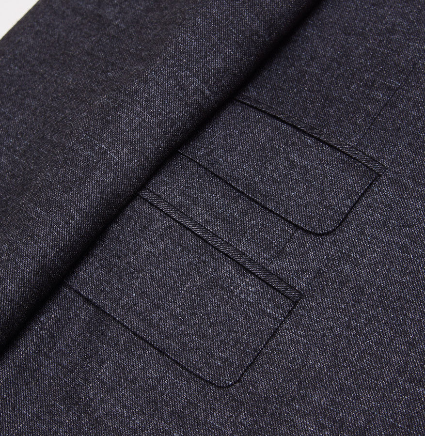 Canali Dark Gray Three-Piece Suit Eu 50/US 40R - Top Shelf Apparel - 6