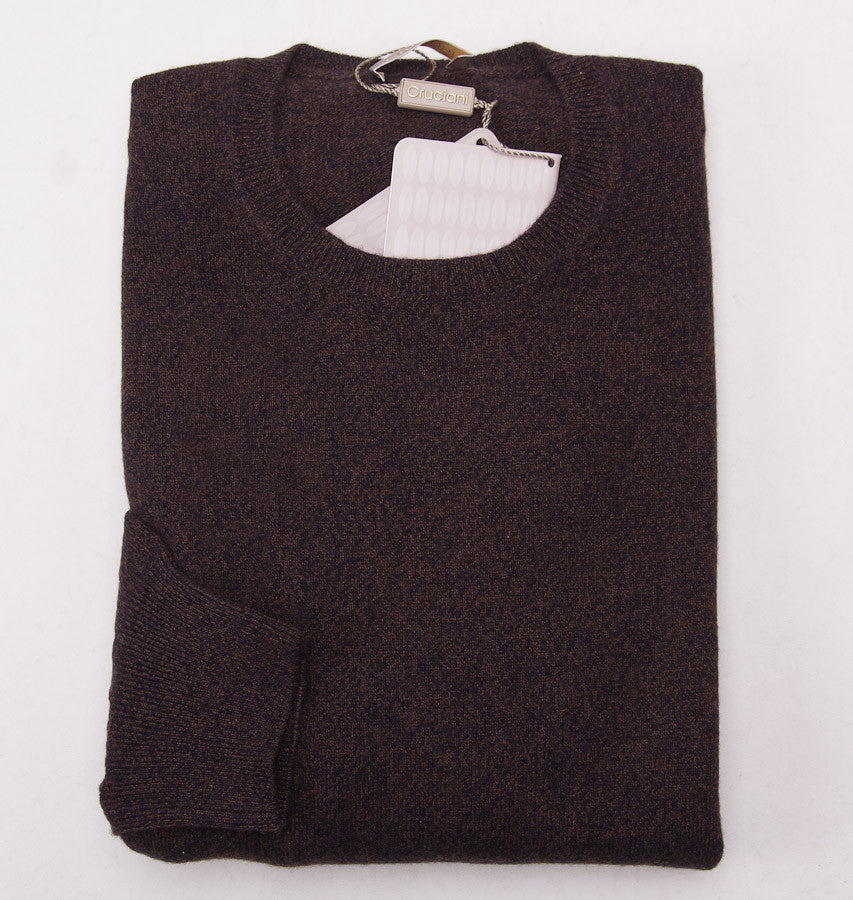 Cruciani Brown Melange Cashmere Sweater - Top Shelf Apparel - 1