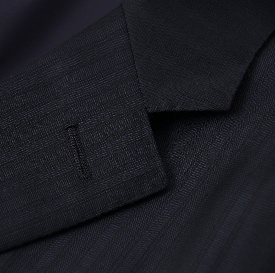 Ermenegildo Zegna Dark Blue 'Multiseason' Wool Suit - Top Shelf Apparel