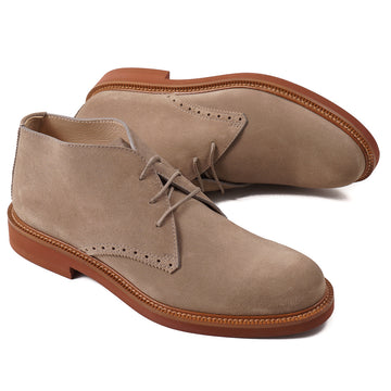 Ermenegildo Zegna Suede Desert Boots - Top Shelf Apparel