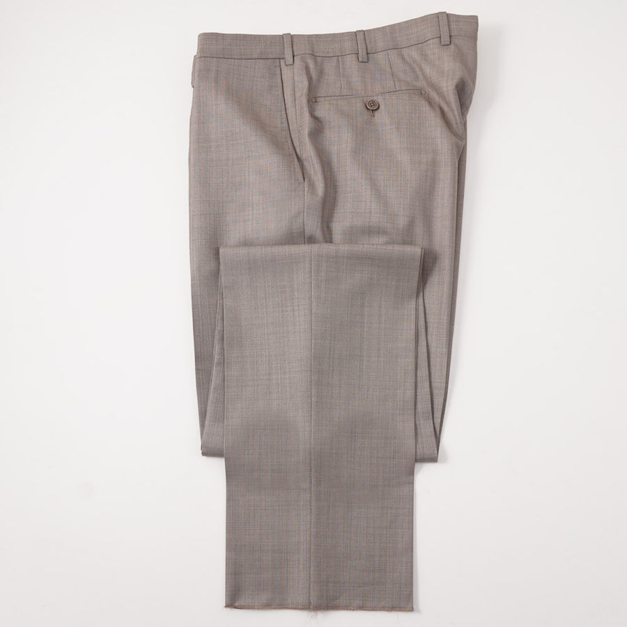 Ermenegildo Zegna Gray-Brown Trofeo 600 Suit - Top Shelf Apparel