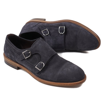 Ermenegildo Zegna Suede Double Monk - Top Shelf Apparel