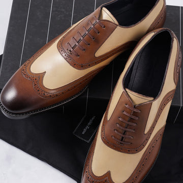 Ermenegildo Zegna Wingtip Oxford - Top Shelf Apparel