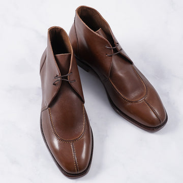 Silvano Lattanzi Algonquin Ankle Boots in Walnut