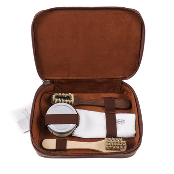 Brunello Cucinelli Travel Shoe Care Kit
