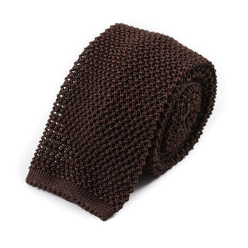 Luciano Barbera Knit Silk Tie - Top Shelf Apparel